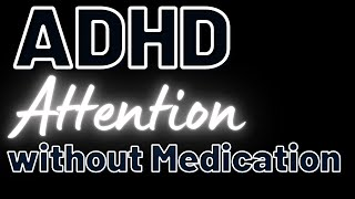 Treating ADHD without medication. Improving attention & recall for older students.