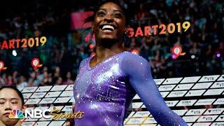 Simone Biles wins record-setting 24th world championship medal | NBC Sports
