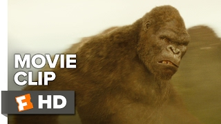 Kong: Skull Island Movie CLIP - Is That a Monkey? (2017) - Brie Larson Movie