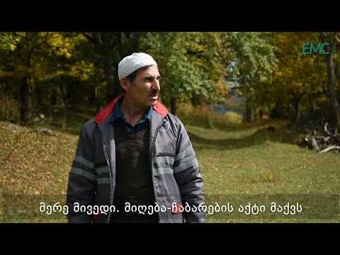 ადიგენის მოსახლეობა საპატრიარქოსთვის მიწების უკანონოდ გადაცემაზე საუბრობს