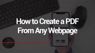 How to Create PDF