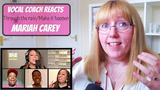 Vocal Coach Reacts to Mariah Carey 'Through The Rain/Make It Happen' Live at Rise Up New York