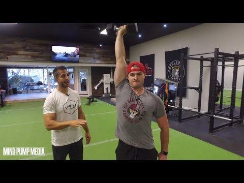 Arnold Press Standing (SINGLE ARM SHOULDER STRENGTH)   Mind Pump