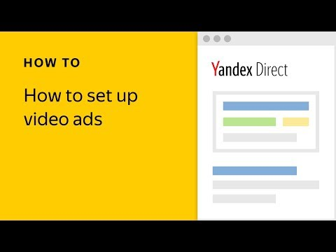 How to set up video ads