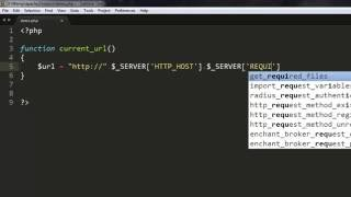 Get Current Page URL in PHP