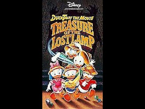 Opening to DuckTales the Movie- Treasure of the Lost Lamp 1991 VHS