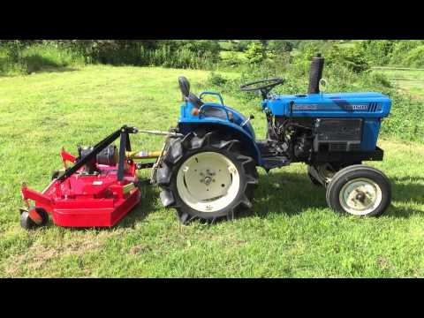 Kubota B5100 2WD Tractor with NEW Finishing mower FOR SALE