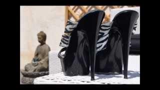 Jessie Heels Noir Perle 2 Talons Hauts