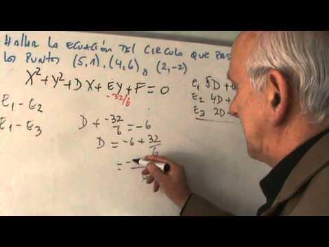 EJERCICIOS RESUELTOS ECUACION CIRCUNFERENCIA PDF LA DE