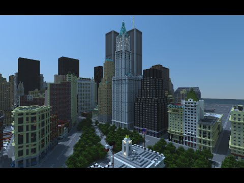 New York City In 2001 New Download And Video Minecraft Project