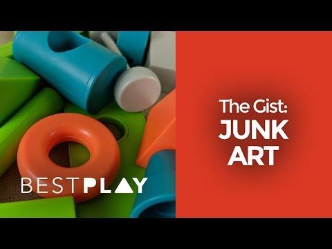 Junk Art in under a minute