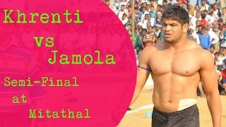 Jamola vs Khrenti Semi-Final  at Mitathal Kabaddi Cup  kabaddi24x7.com
