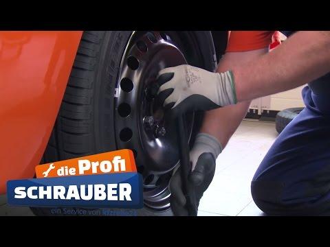 Reifen wechseln / Räder wechseln [TUTORIAL]