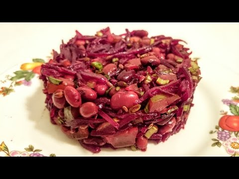 Вкусный салат из свеклы рецепт Секрета приготовления