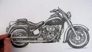 Advanced Motorcycle Drawing