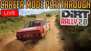 Dirt Rally 2.0 Career Mode Playthrough [Probably crashing mostly...]