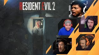 Gamers Reactions to Dead Body In The Locker (JUMPSCARE) | Resident Evil 2 Remake