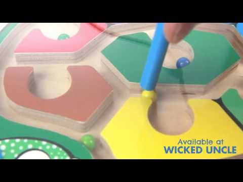 Youtube Video for Sea Turtle Puzzle Maze - Wooden