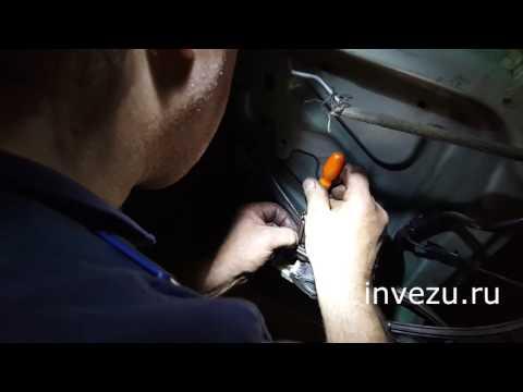 Замена щеток моторчика стеклоподъемника Додж Караван 1996г