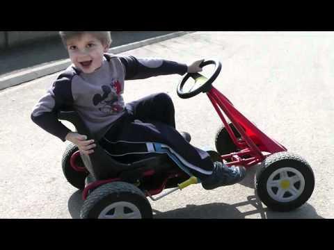 Karting race feat Clement - Using Berg kart and Kettler Kettcar and XShot camera extender