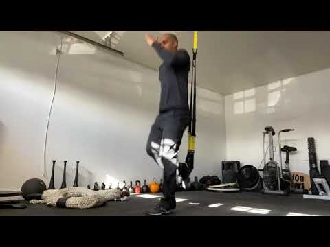Trx Suspended Lunge Jump - Plyometrics