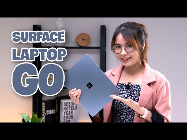 Đánh giá Surface Laptop Go: Chiếc máy tính LÝ TƯỞNG dành cho sinh viên, học sinh