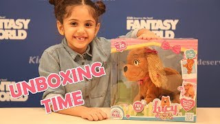 Unboxing Lucy Sing And Dance  Puppy