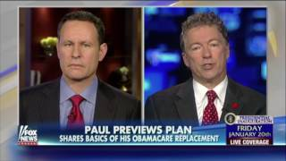 Donald Trump and Rand Paul Agree on Repealing and Replacing Obamacare