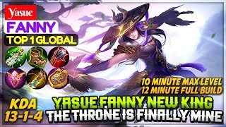 Yasue Fanny New King, The Throne Is Finally Mine [ Top 1 Global Fanny ] Yasue Fanny Mobile Legends