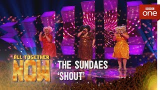 We're in the final of 'All Together Now'