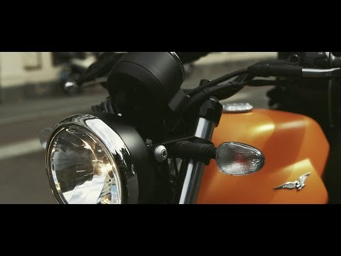 2019 Moto Guzzi V7 III Stone in Edwardsville, Illinois - Video 1