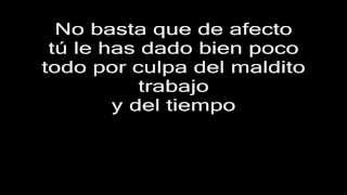 Franco De Vita - No Basta Letra HD