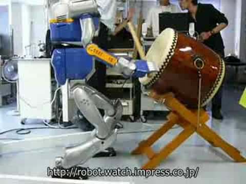 Drum-Playing Robot Doesn't Quite Threaten the Livelihood of Real Drummers