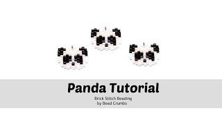 Brick Stitch Panda Tutorial