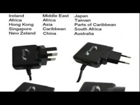 10W Caricabatterie domestico da muro AC internazionale compatibile con iRiver B30 con