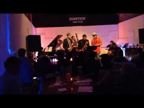 Afro Blue -  Mongo Santamaría-  New York Jazz Acdemy - Somethin' Jazz Club - January 19th, 2013