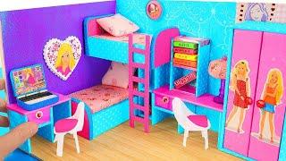 DIY CARDBOARD HOUSE : BARBIE DOLL HOUSE