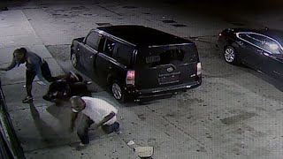 Double shooting near 14th and Locust caught on camera