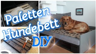 DIY Paletten Hundebett