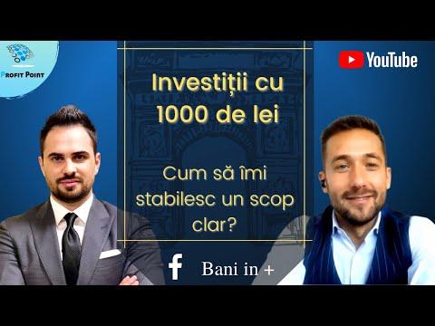 Cum să investesc 1000 de lei? Începe să gândești ca un investitor! Educație Financiară Online
