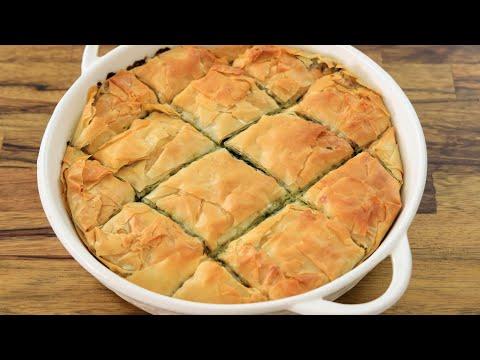 לקראת שבועות: פאי גבינות ותרד יווני • צפו