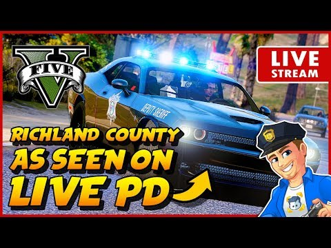 Richland County as seen on Live PD! GTA 5 LSPDFR SHERIFF PATROL