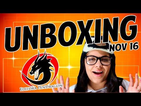 Recebidos da Ed. Pendragon em Novembro | Unboxing