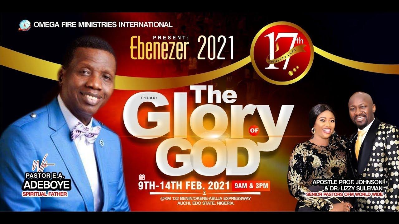 Omega Fire Ministries 14th February 2021 Service – Ebenezer 2021 with Apostle Johnson Suleman