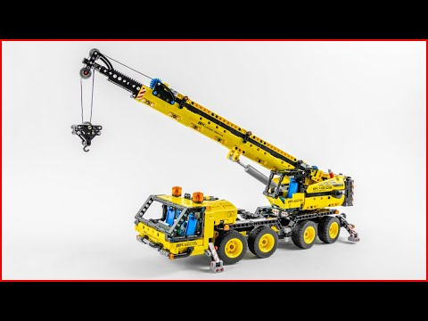 Vidéo LEGO Technic 42108 : La grue mobile