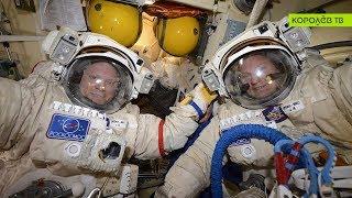 Российские космонавты запустили спутники и провели эксперименты за пределами МКС