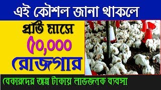 How To Start Latest Broiler Poultry Farming Business 2019 ।  Small Business Ideas From Home