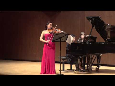 Footage of a piece from my solo recital