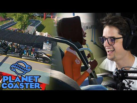 NIEUWE ACHTBAAN VAN 210 KM/H - Planet Coaster #14