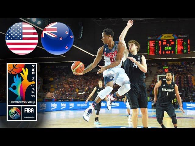 USA 🇺🇸 v New Zealand 🇳🇿 - Classic Full Games | FIBA Basketball World Cup 2014